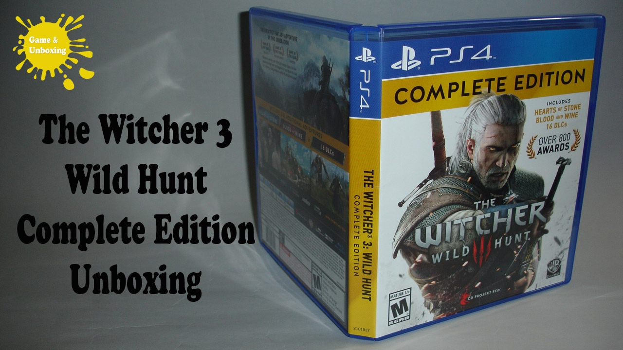 Ps4 The Witcher Wild Hunt Complete Edition New Daftar Harga Kaset Bd Game 3 Of Year Unboxing Overview