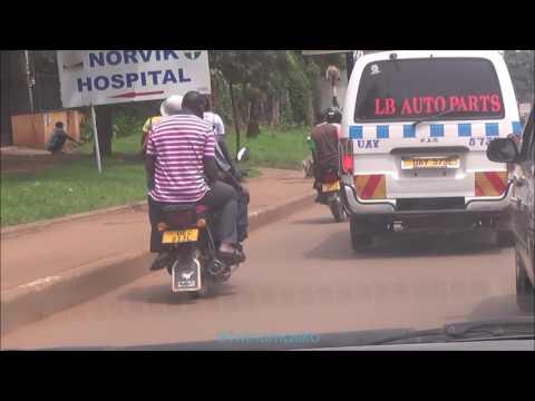 Kampala drive - Kisaasi to Entebbe Airport and back