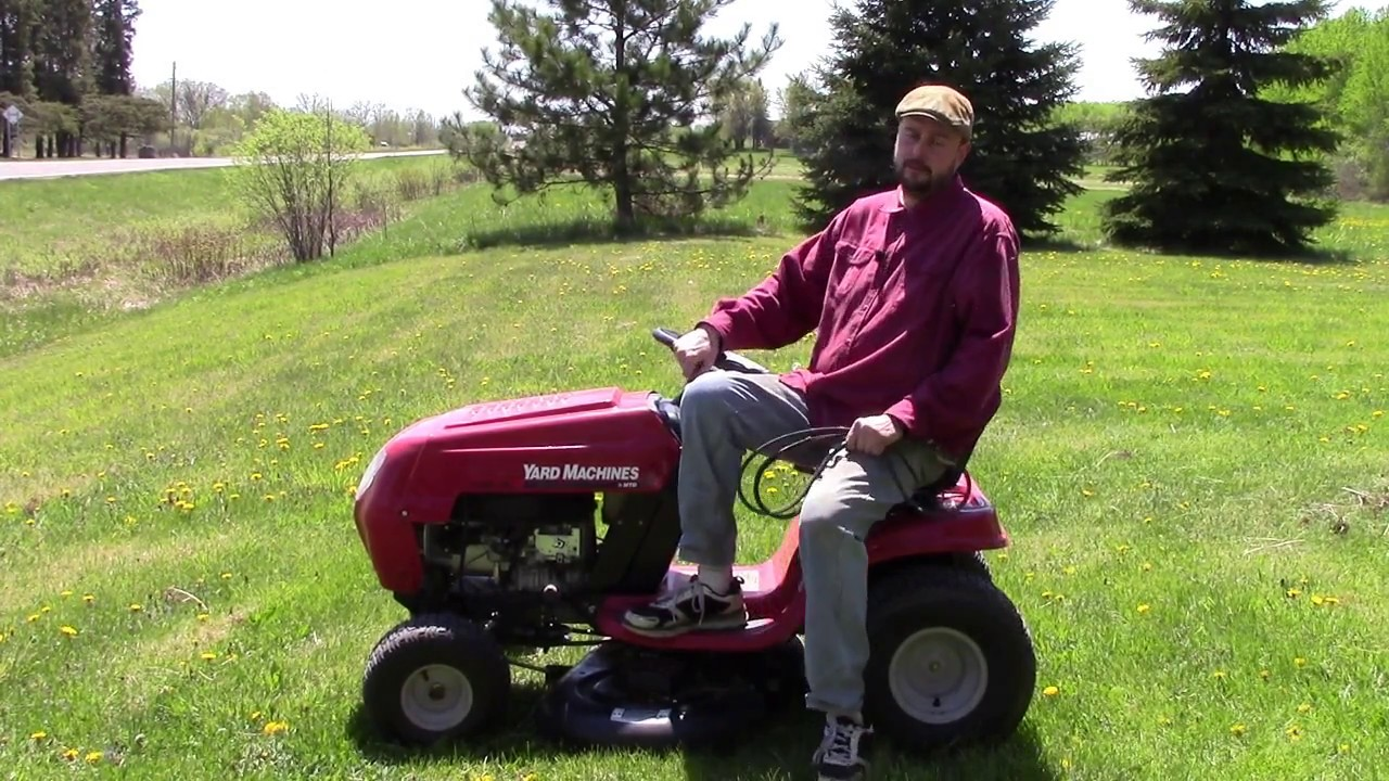 Why your riding lawnmower burns through and breaks deck belts in a short  amount of time