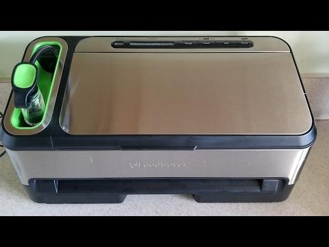 QVC Food Saver 2 in 1 Food Preservation System Foodsaver vacuum sealer