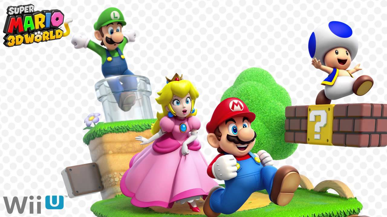 Super Mario 3D World Super Mario