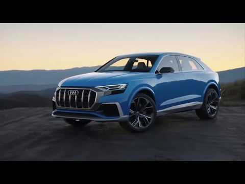 THE NEW FACE OF Q FAMILY : UNVEIL 2019 Audi Q8   MT CARS