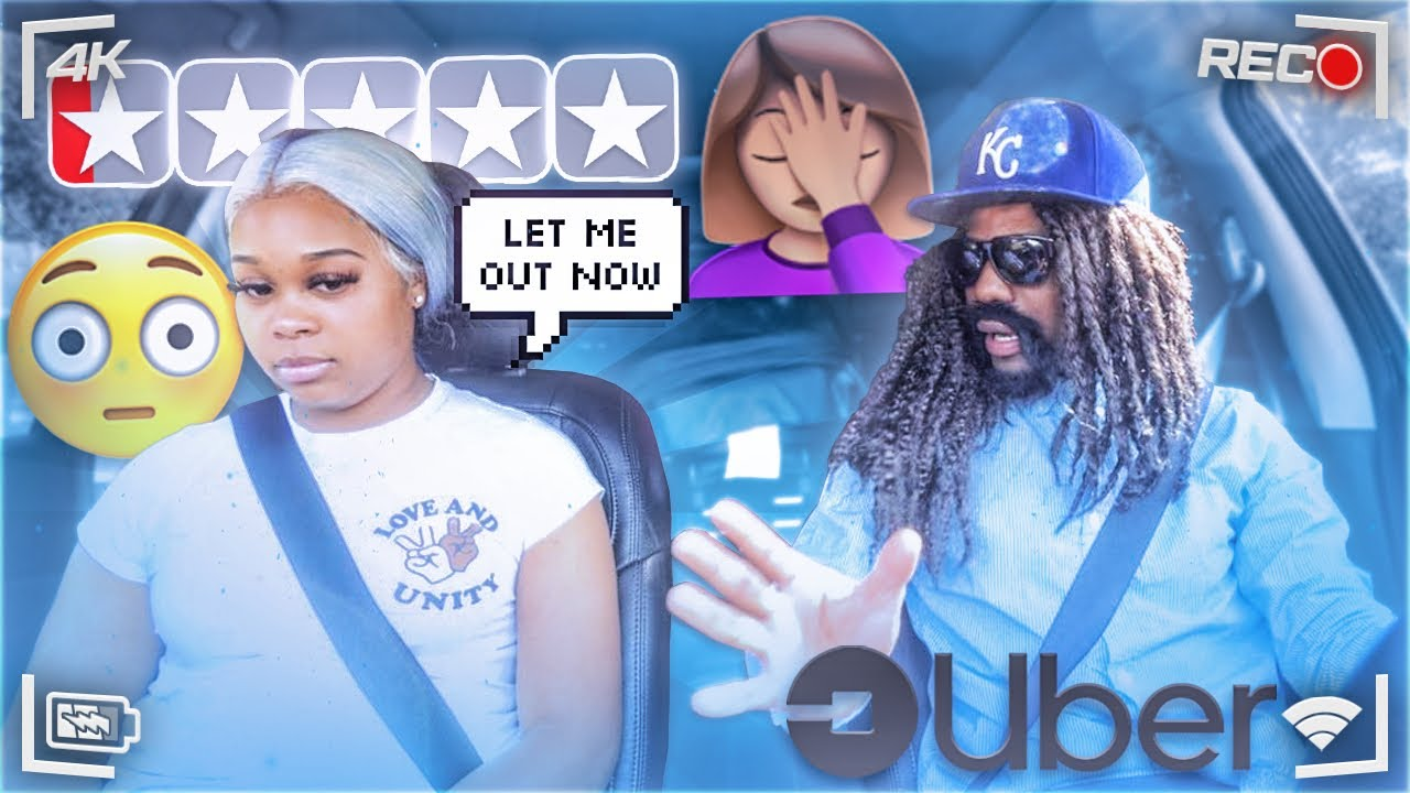 PICKED MY GIRLFRIEND UP IN AN UBER UNDER DISGUISE *went terrible*