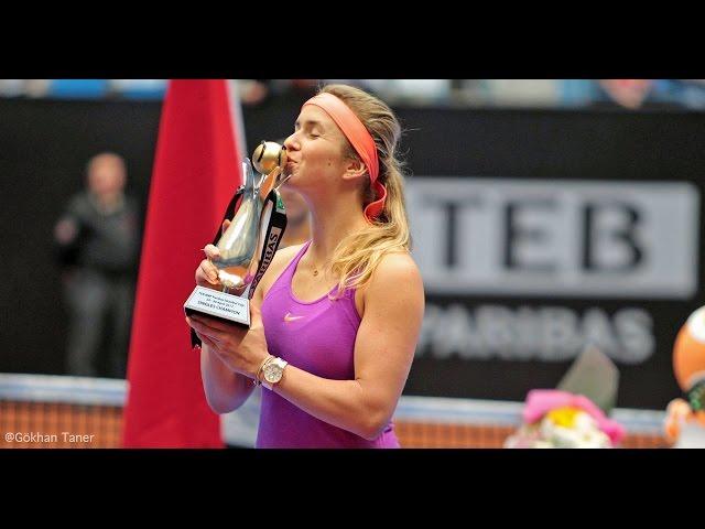 2017 Istanbul Cup Final | Elina Svitolina vs Elise Mertens | WTA Highlights