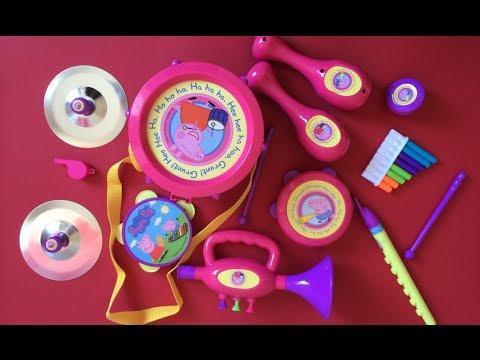 Peppa Pig Toys - Peppa Pig Musical Instruments Band Set!