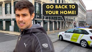 Police is patrolling, Curfew Lag Gaya! | Dhruv Rathee Vlogs