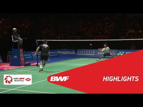 YONEX Swiss Open 2018 | Badminton MS - F - Highlights | BWF 2018