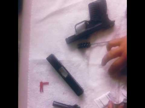 Cleaning XDs .45 cal.