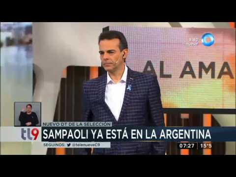 Jorge Sampaoli ya se encuentra en Argentina y será presentado oficialmente