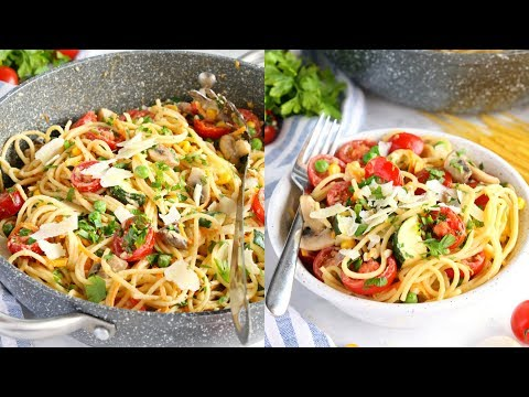 How to Make Easy One Pot Pasta Primavera