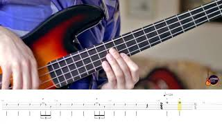Deep Purple - Child in time (Fretless Bass Cover with tabs)