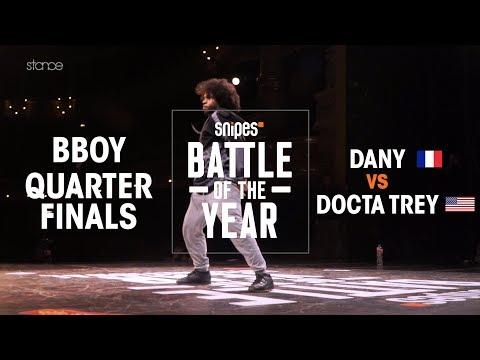 Dany (FRA) vs Docta Trey (USA)   BOTY 2018 1V1 BBOY QUARTERFINALS