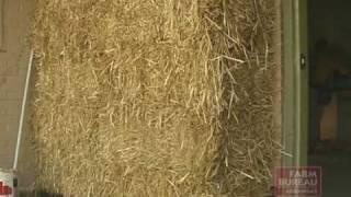 Arkansas Farm Bureau - Wheat Straw Building Insulation