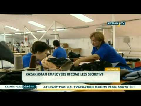 Kazakhstan employers become less secretive