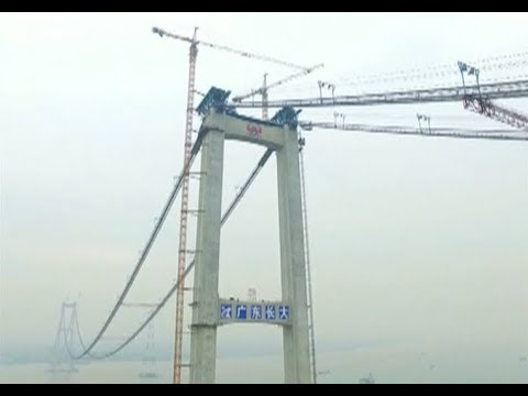 Homemade Super Strong Steel Cables Used for Bridge Construction
