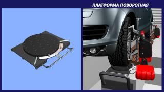 Стенд сход-развал КДСО-Р от АМД