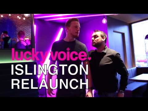 Lucky Voice Islington Relaunch | London Travel Guide