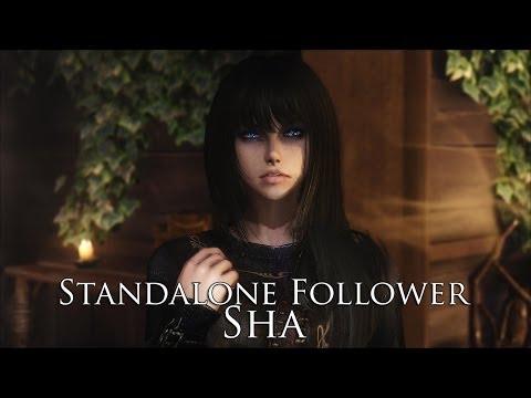 TES V - Skyrim Mods: YuiH Standalone Follower - Sha