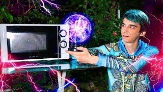 PLAZMA Topunu Mikrodalga Fırına Attım! #ÇılgınDeney