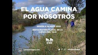 El Agua camina por nosotros: restauración fluvial con la Confederación Hidrográfica del Tajo