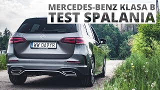 Mercedes-Benz Klasa B 200d 2.0 Diesel 150 KM (AT) - pomiar zużycia paliwa