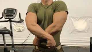 Young military bodybuilder 2017