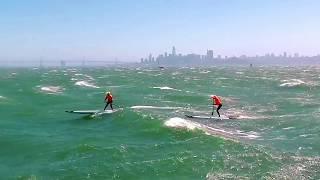 San Francisco Bay 40mph SUP Downwinder