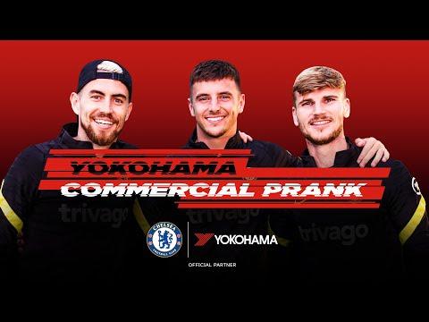 Timo Werner joked with Mason Mount and Jorginho for the Yokohama commercial 🤣