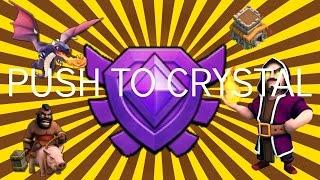 PUSH TO CRYSTAL #3 | All Dragon and HOWIGI Raids | Clash Of Clans