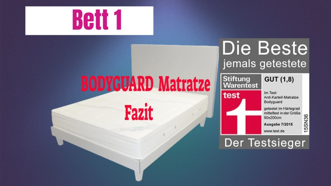 Alex K Anti Kartell Matratze Erfahrungen Teil 2 bett 1 ...