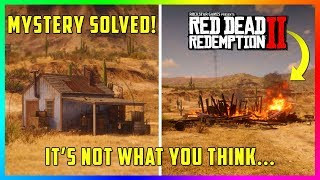 The REAL Reason Why This House Suddenly Explodes In Red Dead Redemption 2! (RDR2 Mystery Solved)