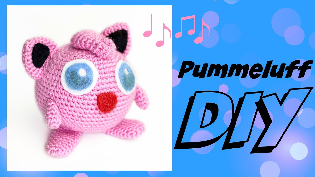 Pummeluff Häkeln Do It Yourself Amigurumi Pokémon Woche Youtube