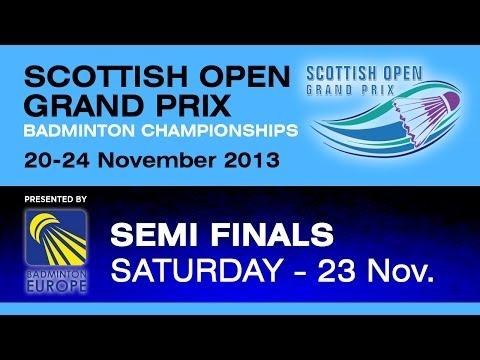 SF - WS - Beatriz Corrales vs Kirsty Gilmour - 2013 Scottish Open Grand Prix