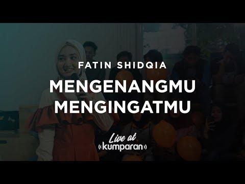 Fatin Shidqia - Mengenangmu Mengingatmu | Live at kumparan