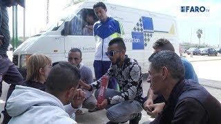 Los tunecinos se quejan de que se quedan bloqueados en Melilla durante meses