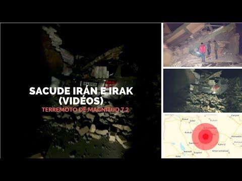 Terremoto de magnitud 7,2 sacude Irán e Irak. (VIDEOS)