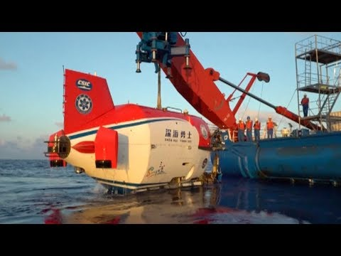 China finishes first stage of deep-sea dive in South China Sea