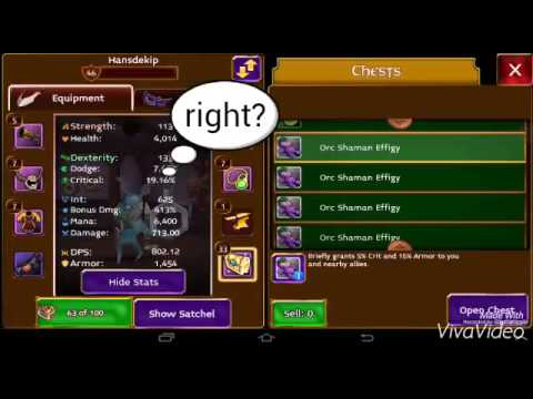 Arcane Legends - Opening Orc Effigies