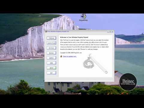 Fix, Clean & Repair Windows 7 Registry by Britec