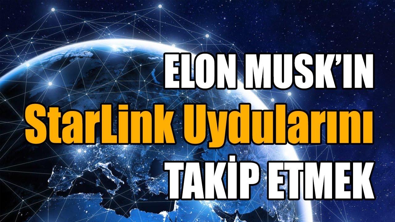 Stellarium İle StarLink Uydularının Takibi