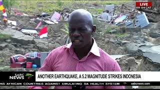 Video Another earthquake, a 5.2 magnitude strikes Palu in Indonesia download MP3, 3GP, MP4, WEBM, AVI, FLV November 2018