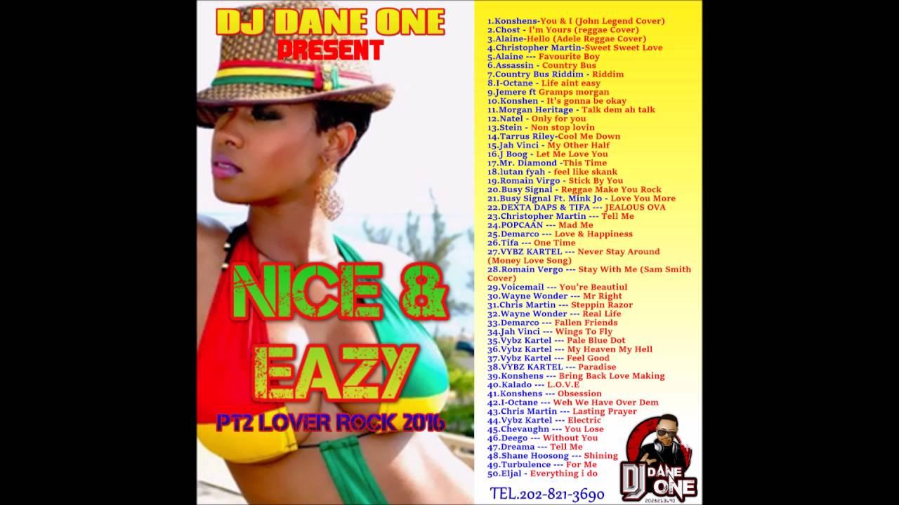 2016 2015 Reggae Love Songs Jah Cure Busy Signal Alaine