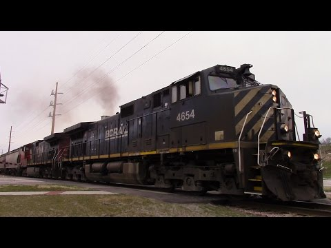 The Chase of BCOL 4654 From Cedar Rapids to Winthrop, Iowa on 3-26-16!