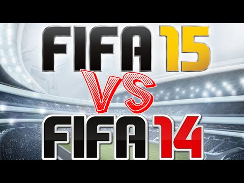 FIFA 15 VS FIFA 14 / Gameplay Review / Differences / Analysis