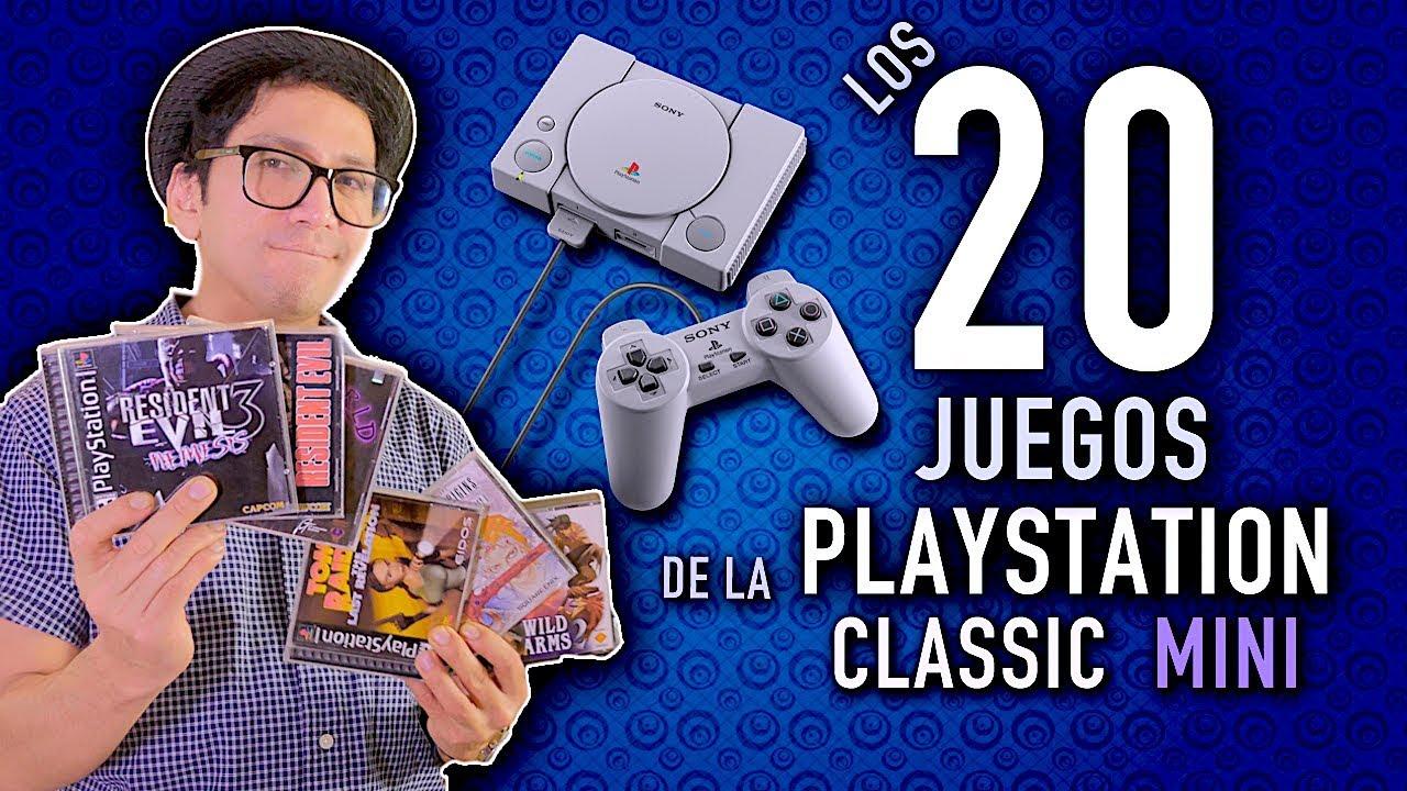 Los 20 Juegos De La Playstation Classic Mini Seleccion Nilxer