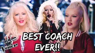 """Christina Aguilera's INSANE Vocals From """"The Voice"""" 