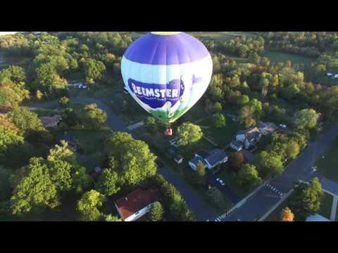 DJI Phantom 3P  - Chasing the Beemster Balloon in Whitehouse Station , NJ