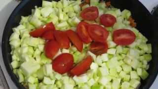 Тушёные кабачки - Вкусно и Просто.