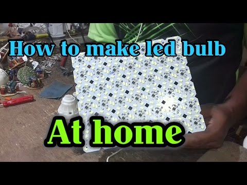 How to make led bulb at home pdf