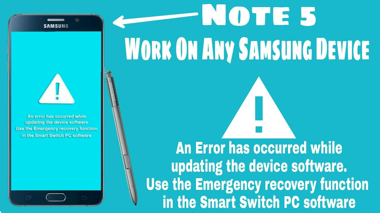 How To Fix An Error Has Occurred While Updating The Device Software  Hindi/Urdu